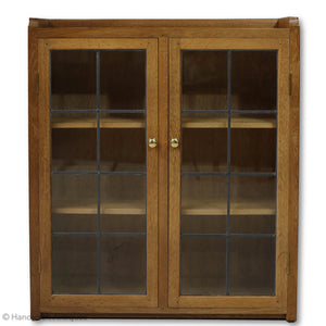 Mervin Duffield Arts & Crafts Yorkshire School English Oak Bookcase 2000