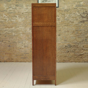 Heal and Co [Ambrose Heal] Arts & Crafts Cotswold School Oak Wardrobe c. 1930
