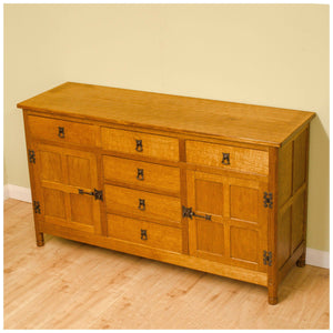 Alan 'Acornman' Grainger (Acorn Industries) Yorkshire School Oak Sideboard