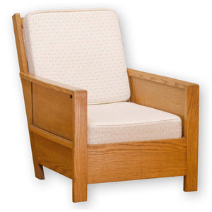 Arthur W. Simpson (The Handicrafts, Kendal) Arts & Crafts English Oak Armchair
