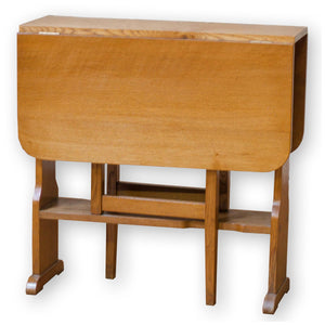 Arthur W Simpson (The Handicrafts, Kendal) Arts & Crafts Oak Drop-Leaf Table