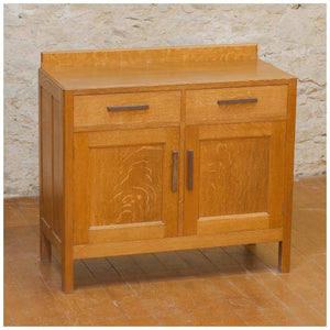 Arthur W Simpson (The Handicrafts) Arts & Crafts English Oak Sideboard c. 1930
