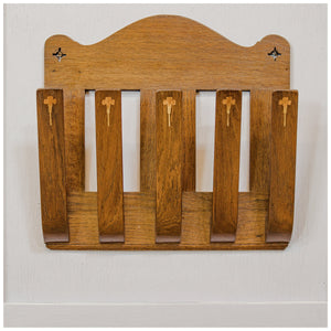 Arthur W Simpson (The Handicrafts) Arts & Crafts Oak 'Efficient' Magazine Rack