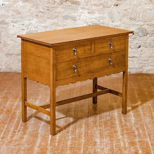 Arthur W Simpson (The Handicrafts, Kendal) Arts & Crafts Oak Dressing Chest