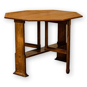 Arthur W Simpson (The Handicrafts) Arts & Crafts Lakes School English Oak Table