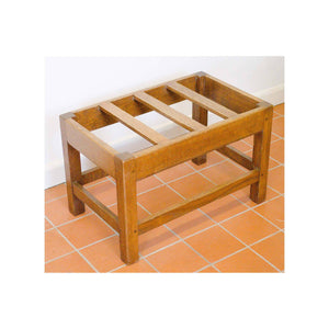 Arthur W Simpson (The Handicrafts, Kendal) Arthur W. Simpson Arts and Crafts Oak Luggage Rack Tidy
