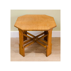 Arthur W Simpson (The Handicrafts, Kendal) Arthur W. Simpson Arts and Crafts Oak Side Table C. 1938