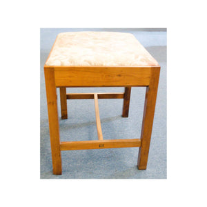 Arthur W Simpson (The Handicrafts, Kendal) Arthur W. Simpson Arts and Crafts Yew Stool