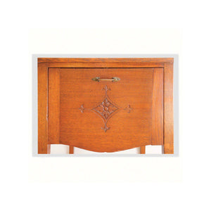 Arthur W Simpson (The Handicrafts, Kendal) Arthur W. Simpson Arts Craft Oak Bedside Cabinet