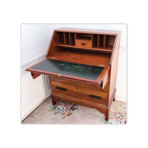 Arthur W Simpson (The Handicrafts, Kendal) Arthur W. Simpson Arts Crafts Mahogany Writing Bureau