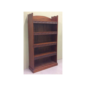 Arthur W Simpson (The Handicrafts, Kendal) Arthur W. Simpson Magogany 5 Shelf Bookcase