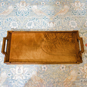 Arthur W Simpson (The Handicrafts, Kendal) Arts & Crafts Lakes School Walnut Tray