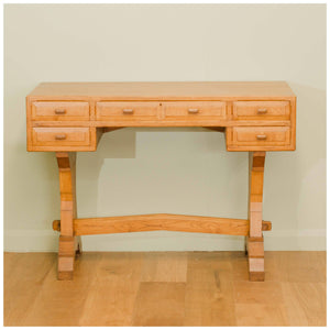 Arts and Crafts Cotswold School Oak Desk