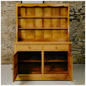 Cat & Mouseman (Ex-Mouseman) Arts & Crafts Yorkshire School Oak Dresser [b]