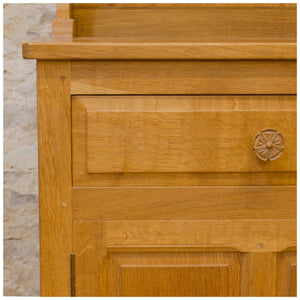 Beaverman (Ex-Mouseman) Arts & Crafts Yorkshire School English Oak Dresser