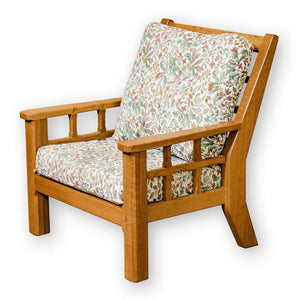 Horace Knightman Knight Arts & Crafts Yorkshire School English Oak Armchair (2)