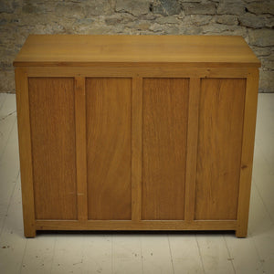 Phil Langstaff Arts & Crafts Yorkshire School English Oak Chest of Drawers (a)