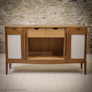 Barnsley Workshop Arts & Crafts Costwold School Walnut Sideboard Media Cabinet