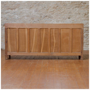 Derek Lizardman Slater Arts & Crafts Yorkshire School Adzed English Oak Sideboard