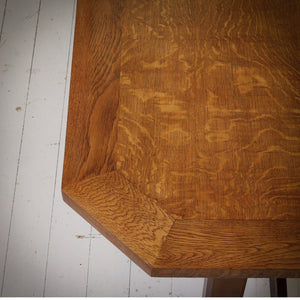 Brynmawr Furniture Company  Arts & Crafts Cotswold School Oak Dining Table