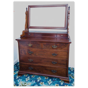 Arthur W Simpson (The Handicrafts, Kendal) Arthur W. Simpson Arts and Crafts Mahogany Dressing Table 1890 1890