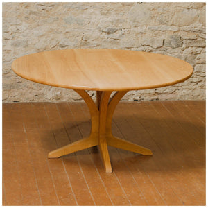 Edward Barnsley Arts & Crafts Cotswold School Olive Ash Circular Dining Table