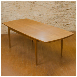 Edward Barnsley Arts & Crafts Cotswold School Walnut Extending Dining Table