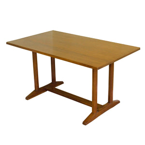 Gordon Russell Arts and Crafts Cotswold School English Oak Dining Table 1927