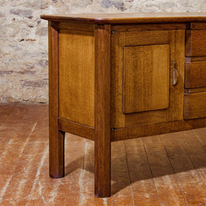 Gordon Russell Arts & Crafts Cotswold School English Oak Enstone Sideboard 1935