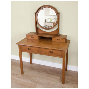 Heal and Co (Ambrose Heal) Ambrose Heal Rare Arts and Crafts Sweet Chestnut Dressing Table C. 1905 c. 1905