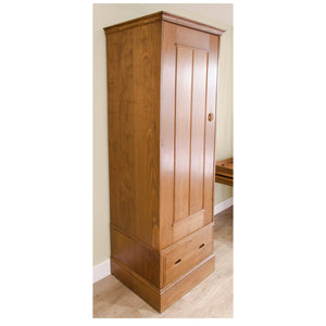 Heal and Co (Ambrose Heal) Ambrose Heal Rare Arts and Crafts Sweet Chestnut Single Door Wardrobe C. 1905
