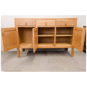 Heal and Co. (Ambrose Heal) Cotswold School Arts Crafts Oak Sideboard c. 1920
