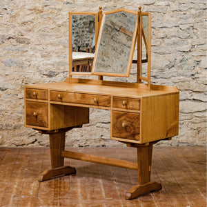 Hugh Birkett (Ex-Oliver Morel) Arts & Crafts Cotswold School Dressing Table 1955
