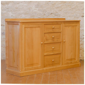 Michael Seahorseman Riley Arts & Crafts Yorkshire School Elm Sideboard