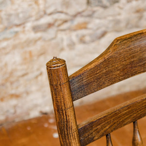 Neville Neal Arts & Crafts Cotswold School Gimson Design Ash Rocking Chair