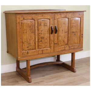 Oliver Morel Arts and Crafts Cotswold School Pollard Oak Sideboard 1983