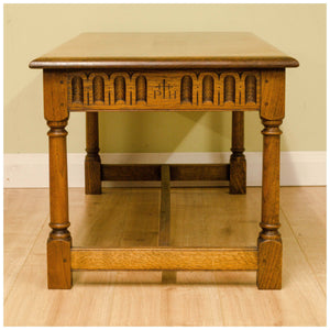 Peter Hall Arts and Crafts Oak Coffee Table