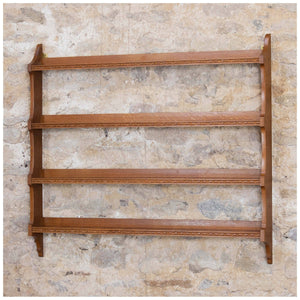 Peter Hall of Staveley Arts & Crafts Lakes School English Oak wall rack