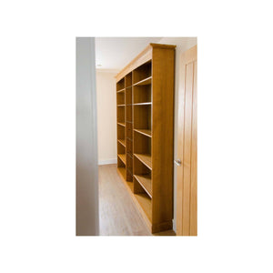 Peter Hall Peter Hall Arts and Crafts Handmade Contemporary Oak Bookcase