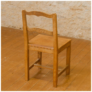 Robert Kingpost Ingham Arts & Crafts Yorkshire School English Oak English Chairs