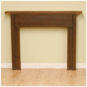 Robert 'Mouseman' Thompson Yorkshire School Oak Fire Surround