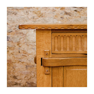 Rupert Griffiths Arts & Crafts English Oak long Sideboard