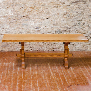 Rupert Griffiths Arts & Crafts English Oak 6 ft 6 in Rectangular Dining Table
