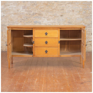 Squirrelman (Ex-Mouseman) Arts & Crafts Yorkshire School English Oak Sideboard