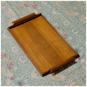 Tom Philipson (Arthur W. Simpson) Arts & Crafts Lakes School English Oak Tray