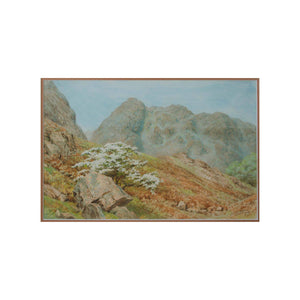 W. G. Collingwood an Original Watercolour of Raven Crag Yewdale 1929 1929