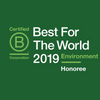 Reconocimiento B Corp Best for the World 2019
