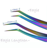 EAGLE LENGTHEN super steel tweezer / Anti-magnetic / Ultra-high precision hardness and durability