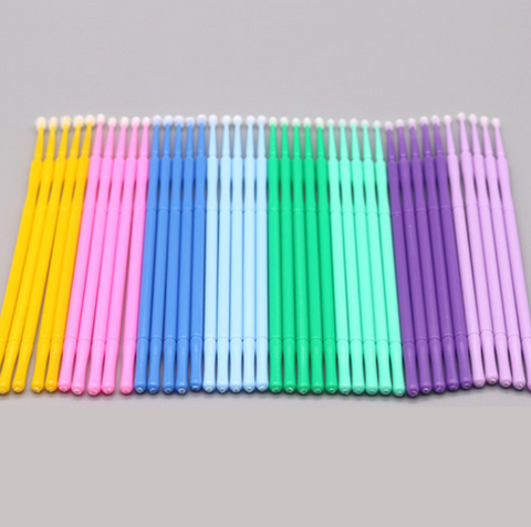 Eyelash Cotton Swabs  100 pcs  2.5mm head