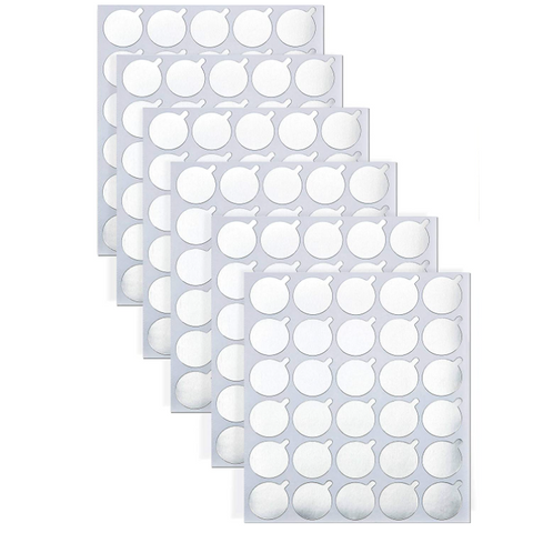 300 Pieces Disposable Eyelash Glue Holder Sticker